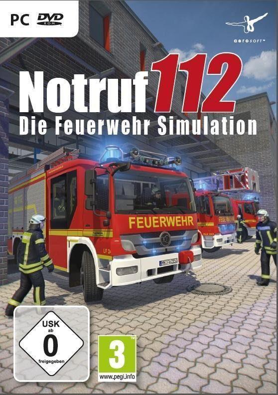NBG PC - Spiel »Die Feuerwehr Simulation - Notruf 112«