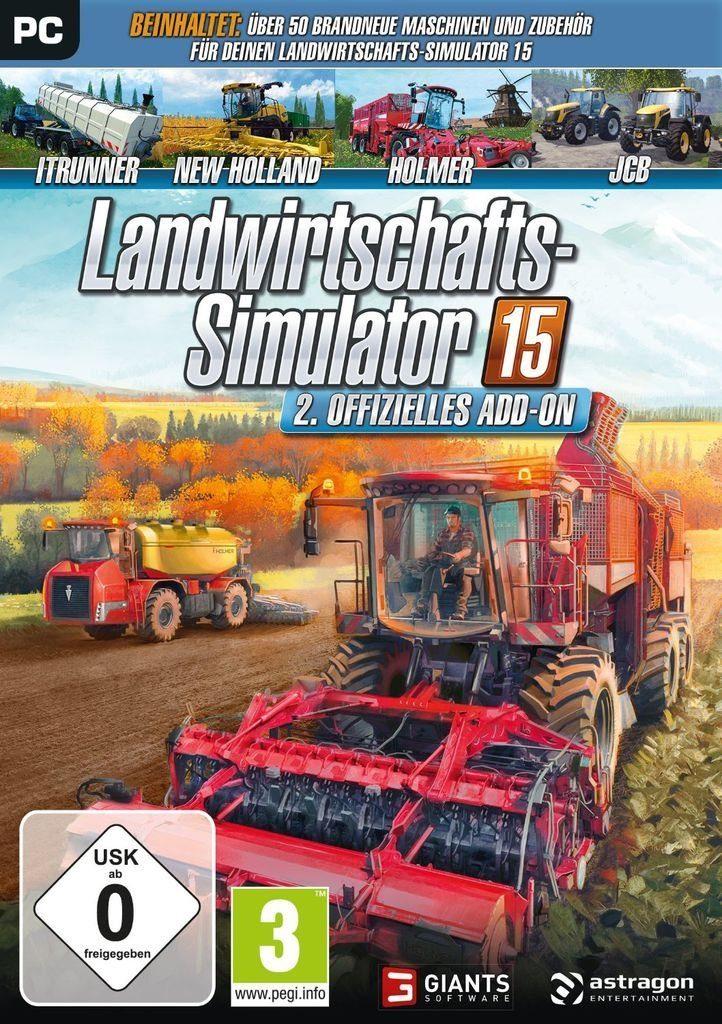 astragon PC - Spiel »Landwirtschafts-Simulator 15: Offizielles Add-On 2«