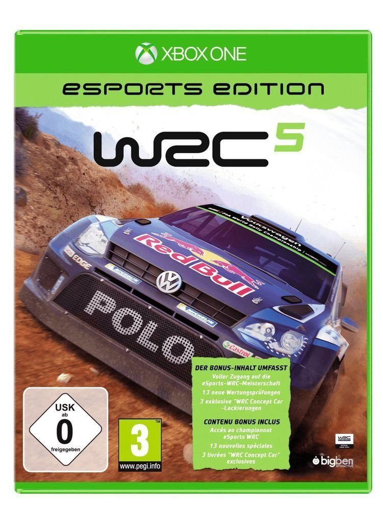 BigBen XBOX One - Spiel »WRC 5 - eSport Edition«
