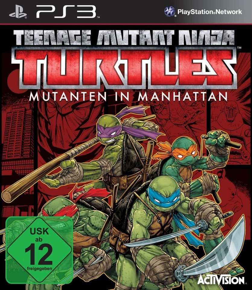 teenage mutant ninja turtles spiele