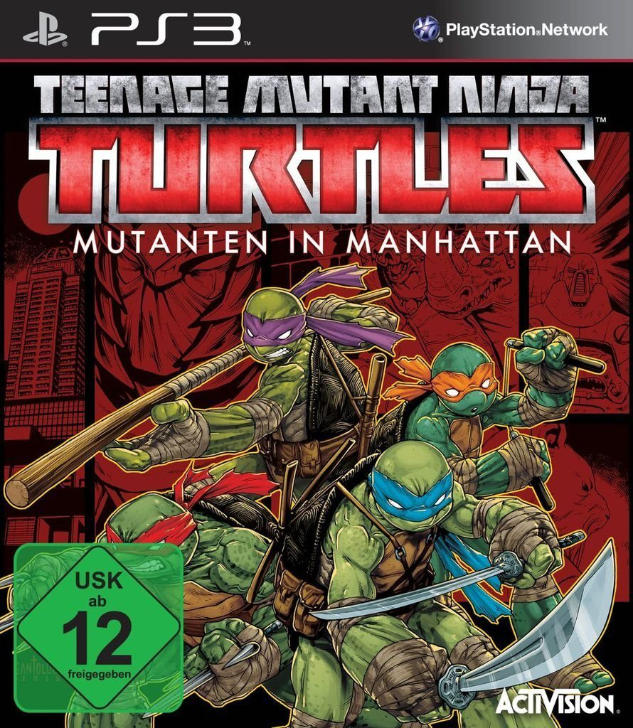 Activision Playstation 3 - Spiel »Teenage Mutant Ninja Turtles: Mutanten in Manhatta«