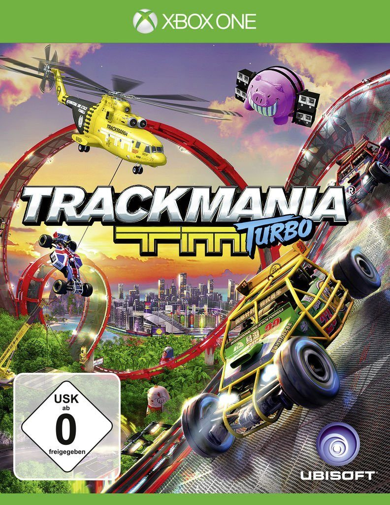 Ubisoft XBOX One - Spiel »Trackmania Turbo«
