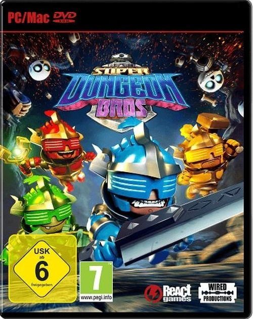 Nordic Games PC - Spiel »Super Dungeon Bros«