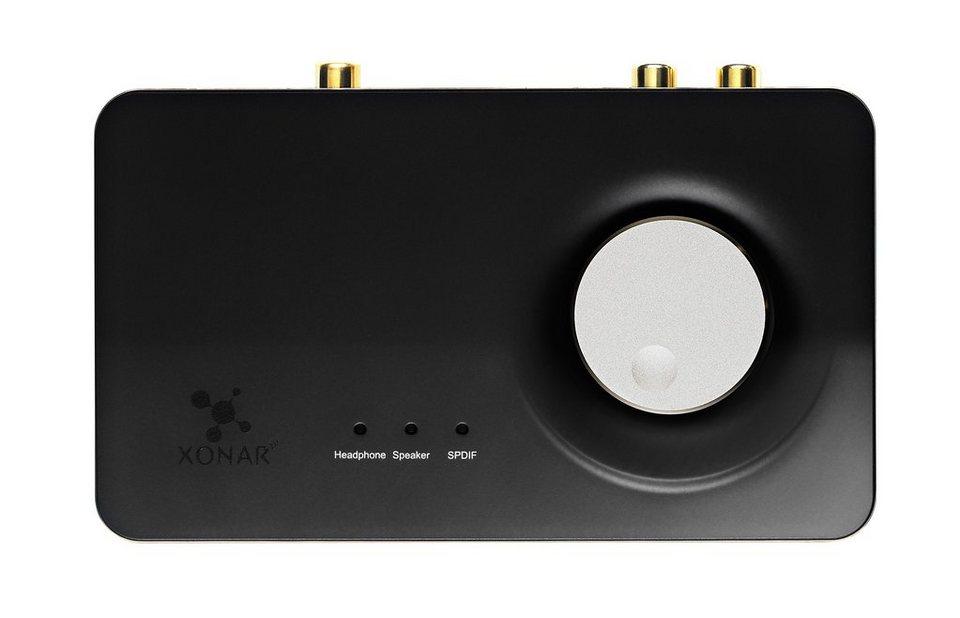 ASUS Asus Soundkarte Xonar U7 USB 7.1 Kanal