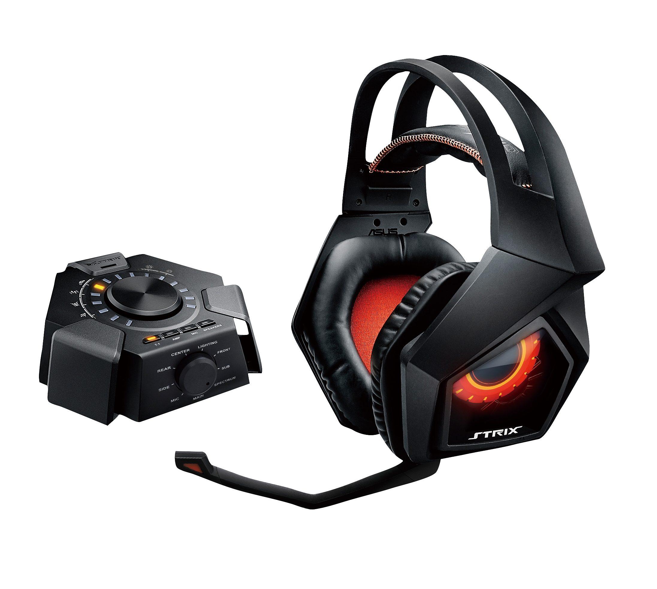 ASUS Kabelgebundenes Gaming-Headset Asus Strix 7.1