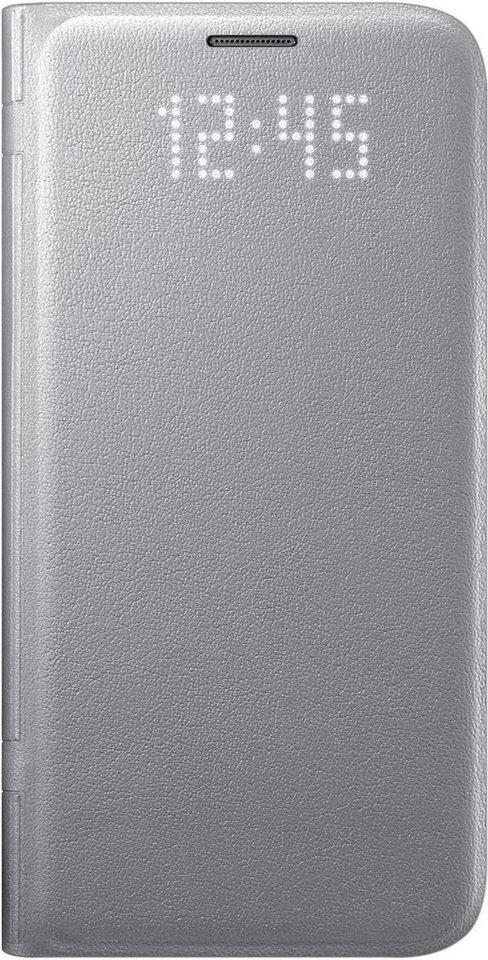 Samsung Handytasche »LED View Cover EF-NG930 für Galaxy S7« in Silber