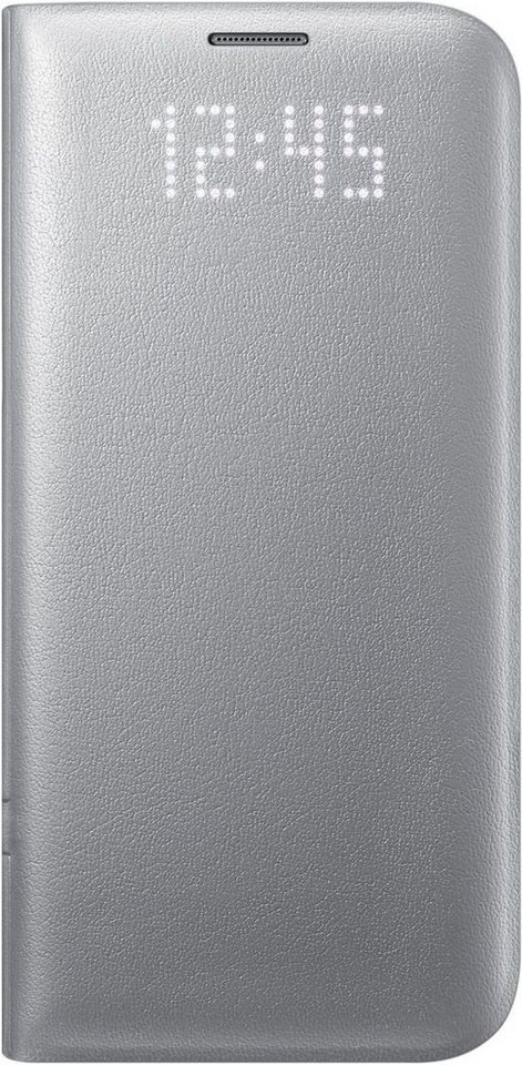 Samsung Handytasche »LED View Cover EF-NG935 für Galaxy S7 Edge« in Silber