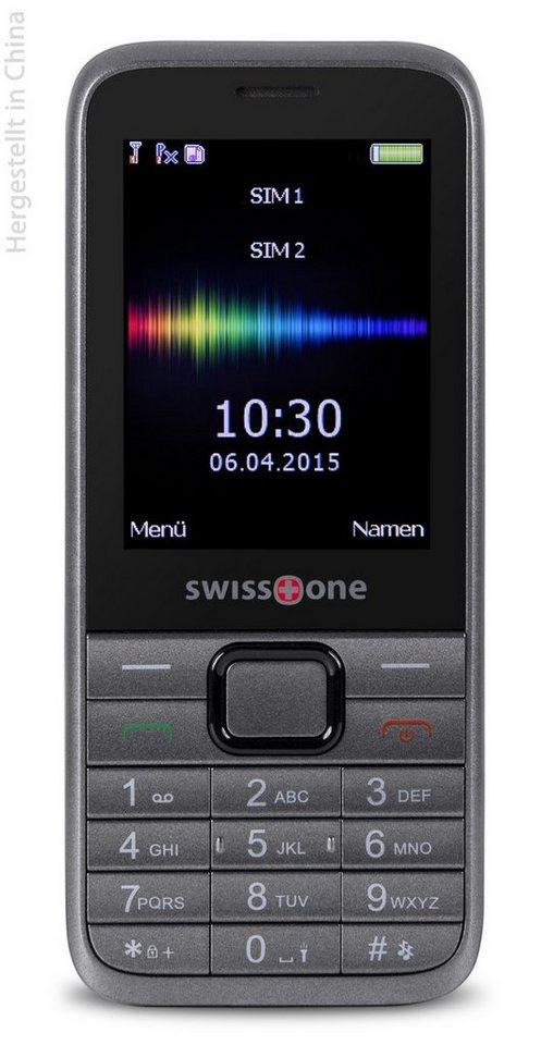 swisstone Handy »SC 560« in Dunkelgrau