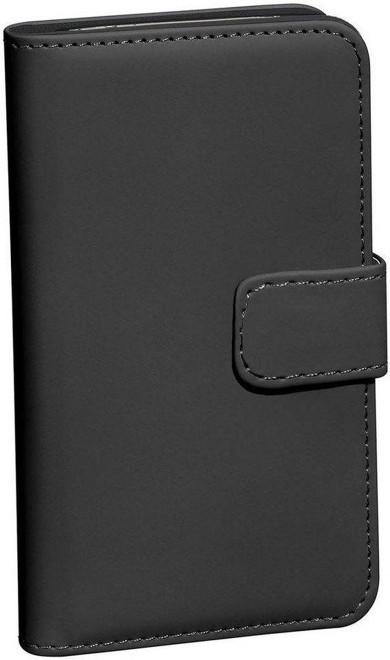PEDEA Handytasche »Book Cover Classic für Microsoft Lumia 650« in Schwarz