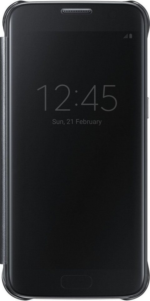 Samsung Handytasche »Clear View Cover EF-ZG930 für Galaxy S7« in Schwarz