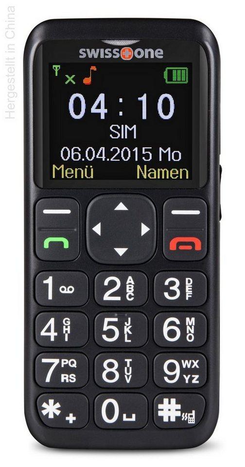 swisstone Handy »BBM 410« in Schwarz