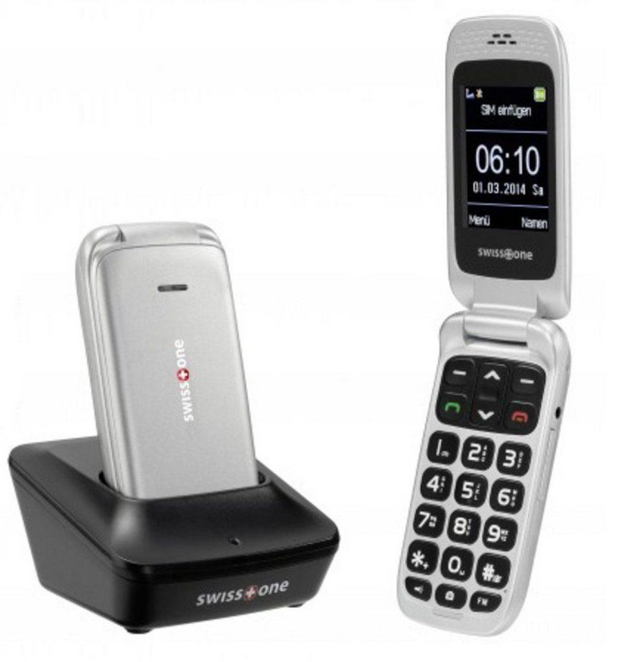 swisstone Handy »BBM 610« in Silber