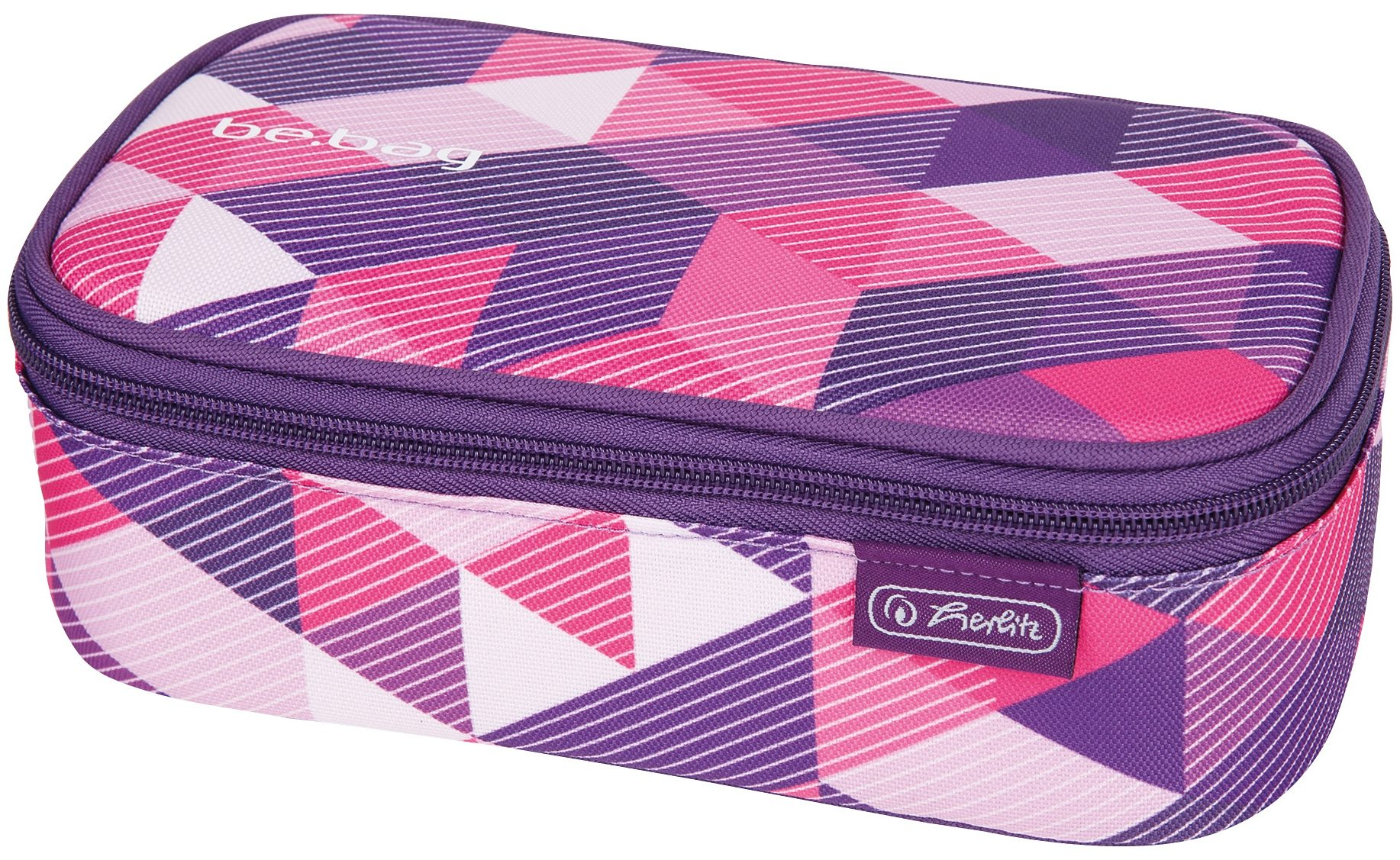 Herlitz Schüleretui, »Faulenzer be.bag beatBox, Purple«
