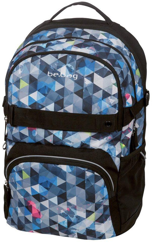 Herlitz Schulrucksack, »be.bag cube, Snowboard« in grau