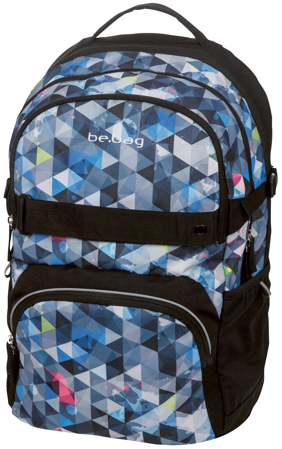 Herlitz Schulrucksack, »be.bag cube, Snowboard«