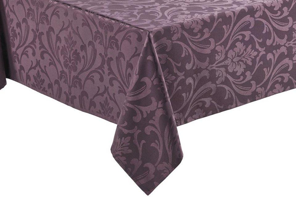 Tischdecke Ornament in lila