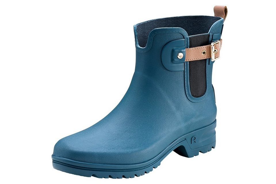 heine home Regen-Stiefelette in blau