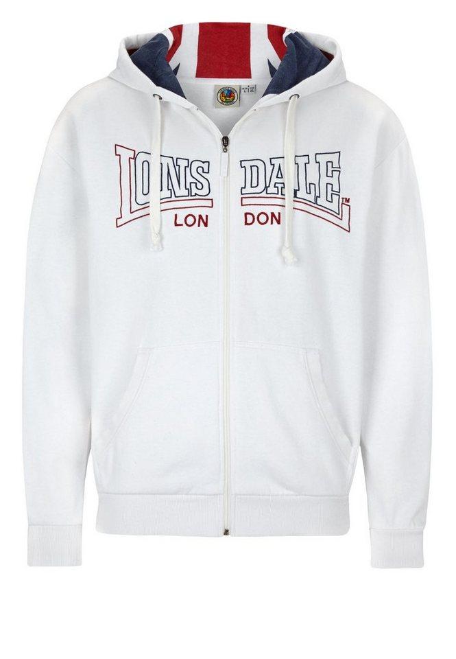 Lonsdale Sweatjacke »WALLINGFORD« in White