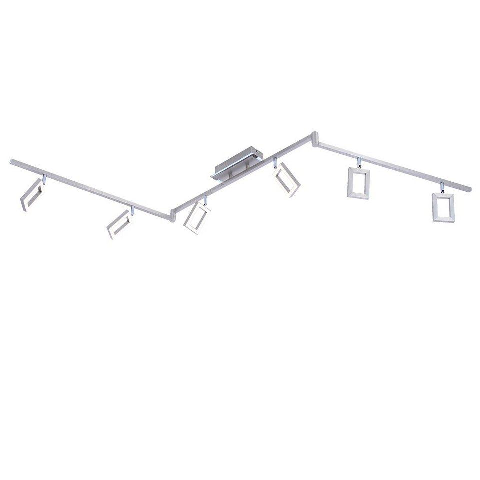 Licht-Trend Deckenleuchte »LED Schienensystem dreh- und schwenkbar« in Silber