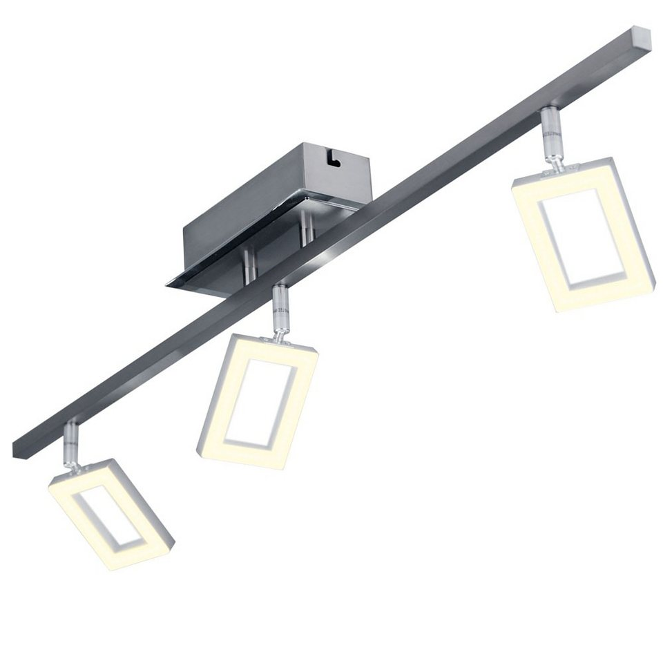 Licht-Trend Deckenleuchte »Swive / LED Deckenleuchte mit 3 dreh- und« in Silber