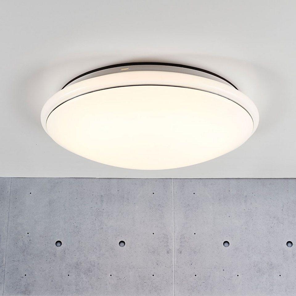 Licht-Trend Deckenleuchte »Nowa LED Deckenleuchte Ø 34 cm / 840 Lumen« in Silber