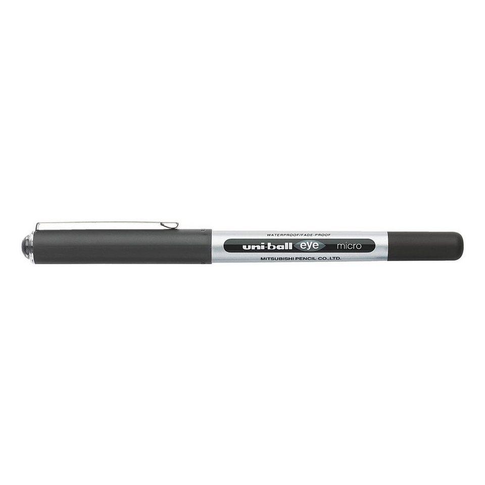UNIBALL Tintenroller »uni-ball eye micro« in schwarz