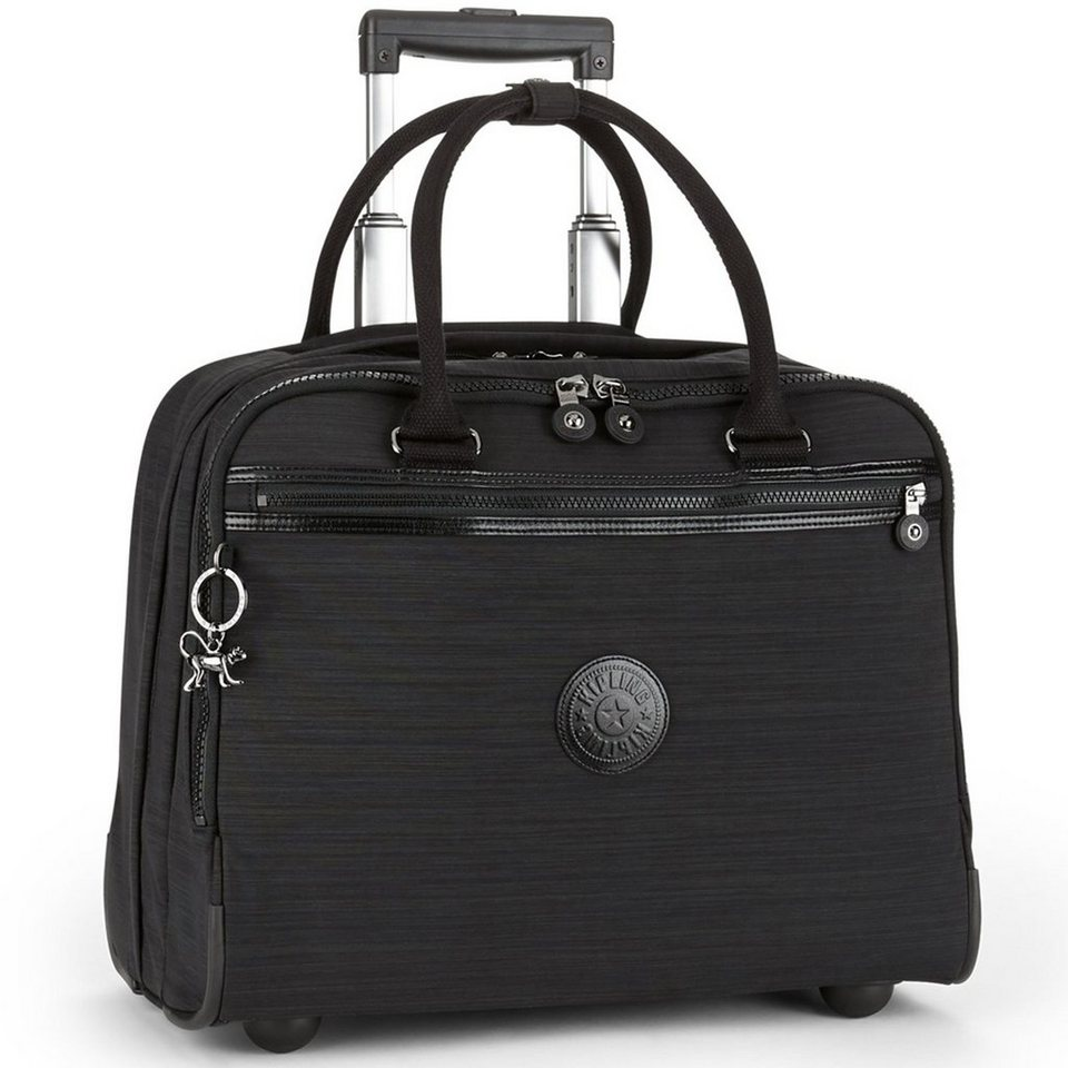 Kipling Works New Ceroc 2-Rollen Laptoptrolley 36 cm in dazz black