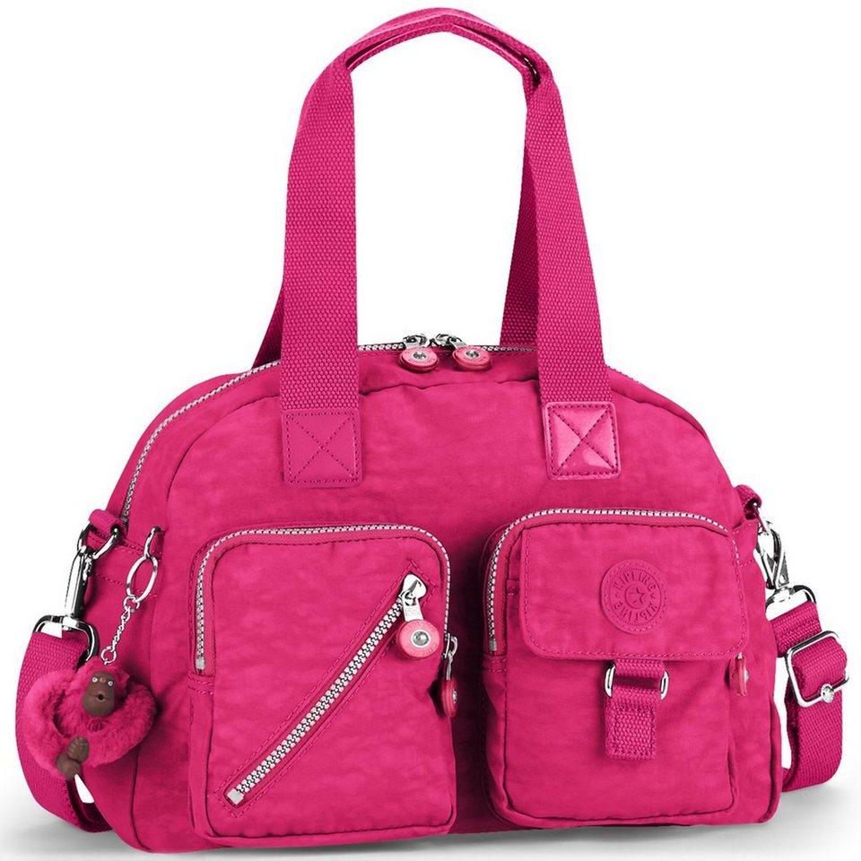 Kipling Basic Defea 15 Handtasche 33 cm in flamboyant pink