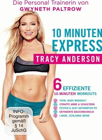 DVD »Tracy Anderson - 10 Minuten Express«