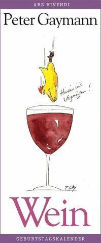Kalender »Geburtstagskalender Wein«