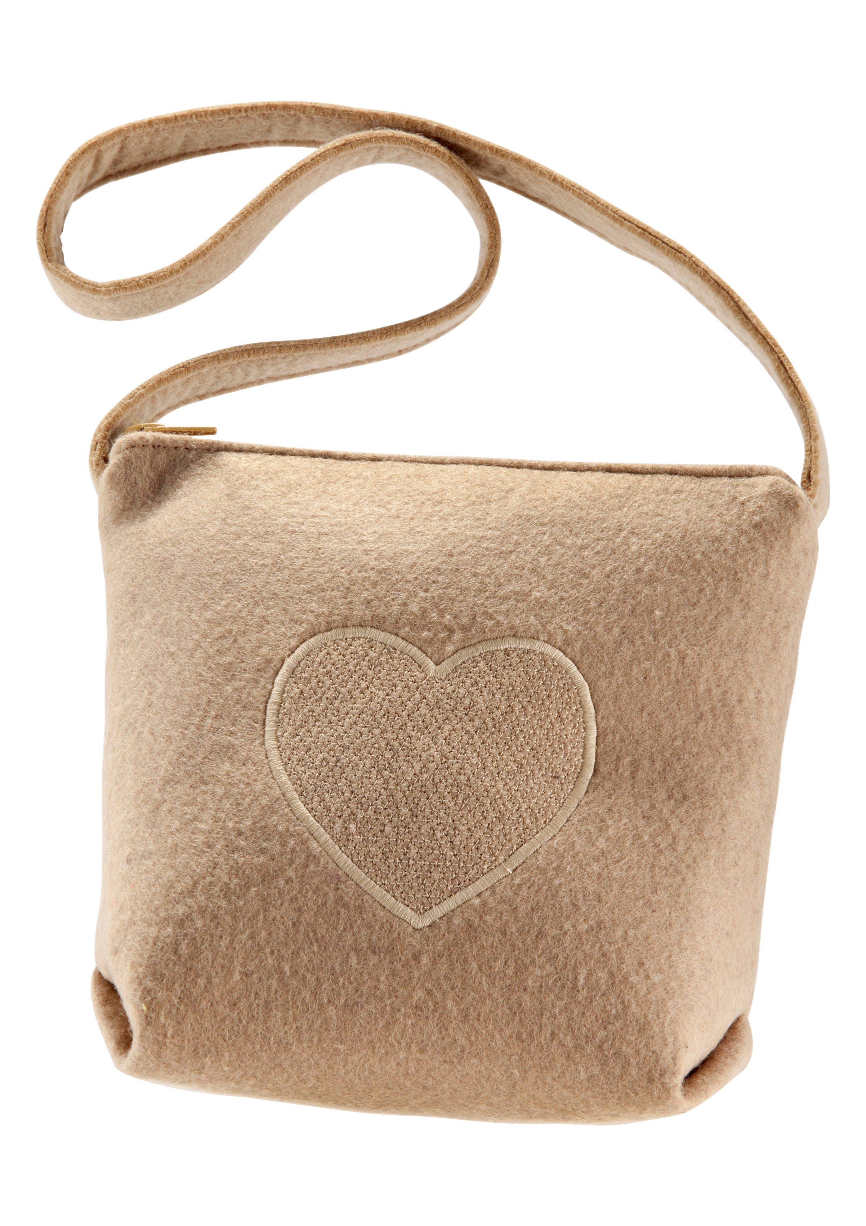 Trachtentasche in Filzoptik, K&K Kunstduo