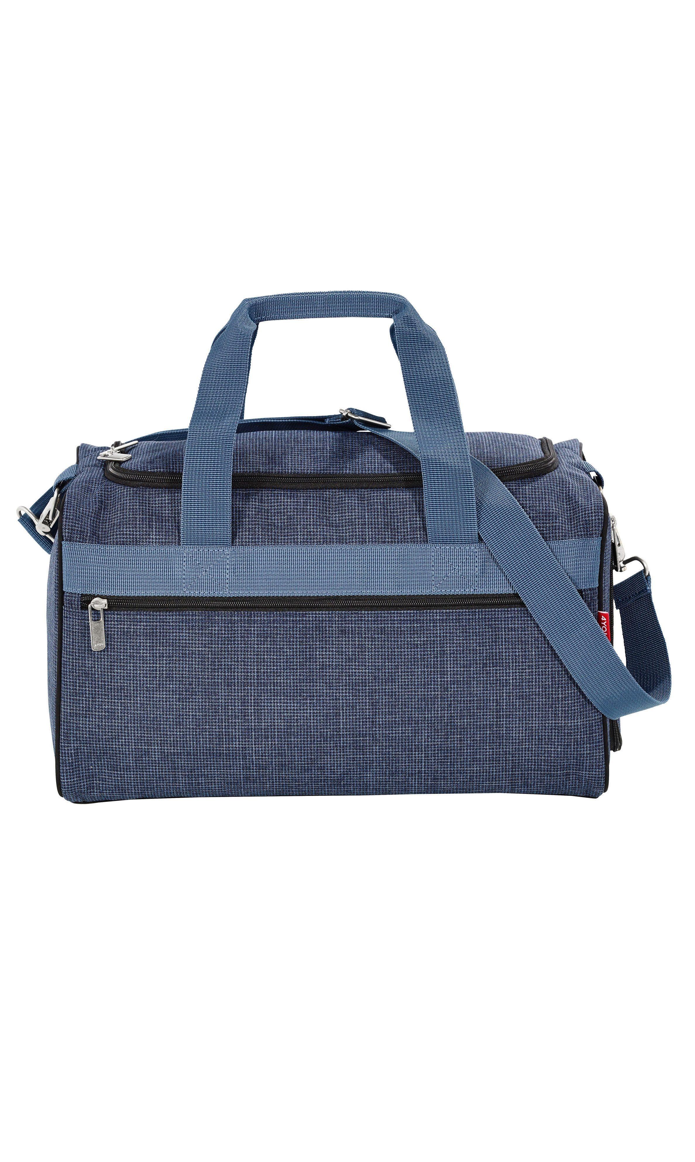 4YOU Freizeittasche, Pixel Blue, »Sporttasche M«