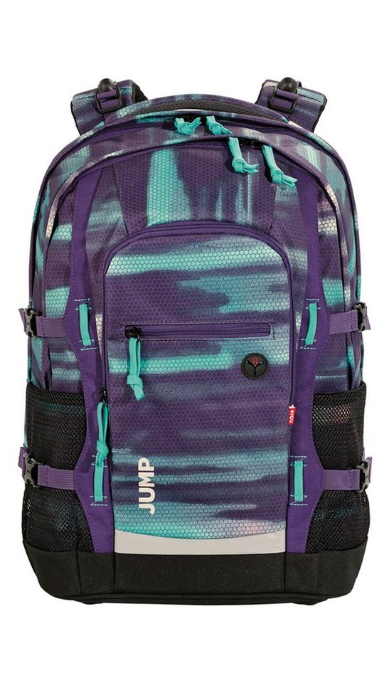 4YOU Schulrucksack mit Laptop- und Tabletfach, Shades Purple, »Jump« in shades purple