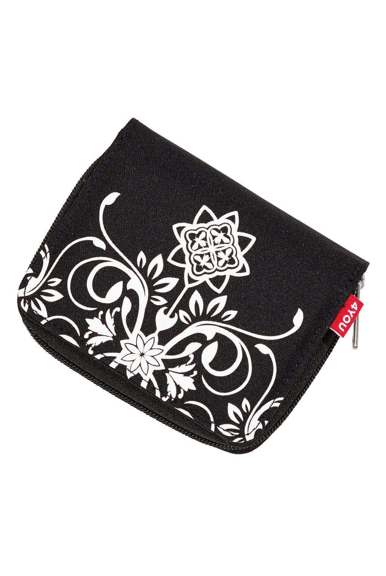 4YOU Geldbörse mit Reißverschluss, Bee Ornamental, »Zipper Wallet«