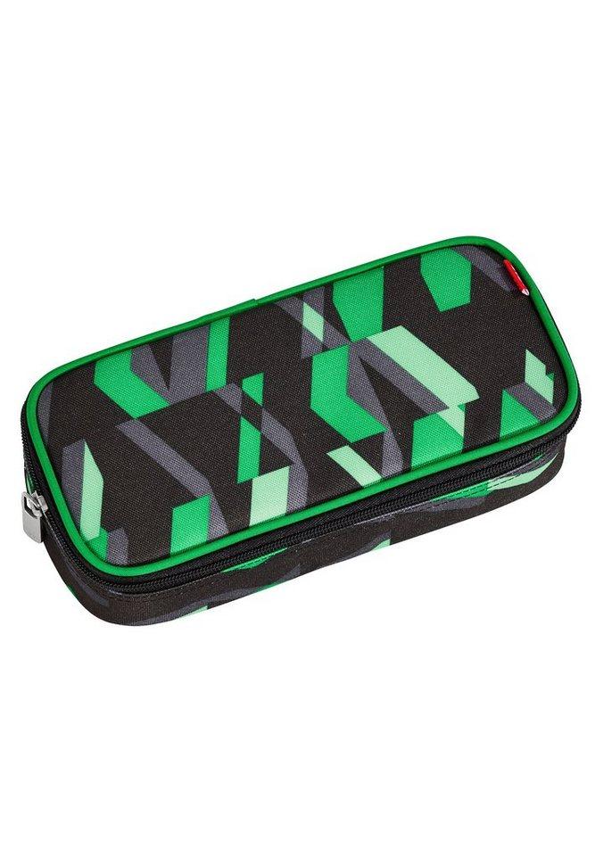 4YOU Mäppchen mit Geodreieck®, Chequer Green, »Pencil Case« in chequergreen
