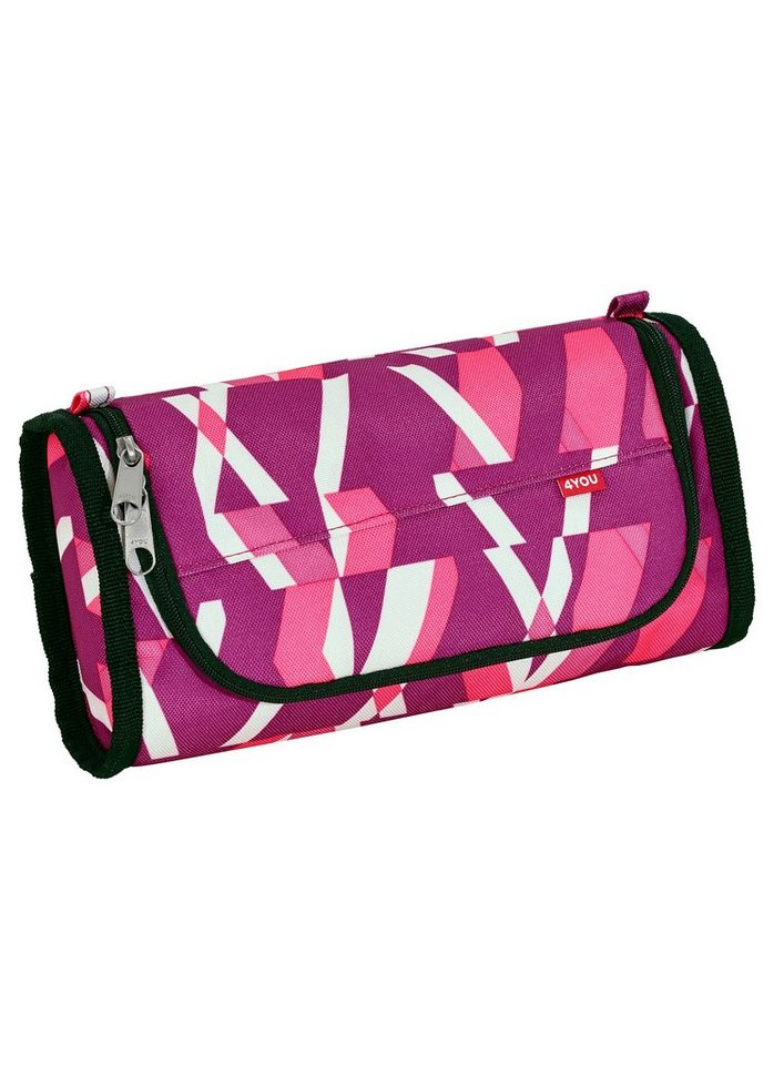 4YOU Mäppchen, Chequer Pink, »PenBox« in chequer pink