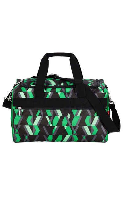 4YOU Freizeittasche »Sporttasche M Chequer Green«
