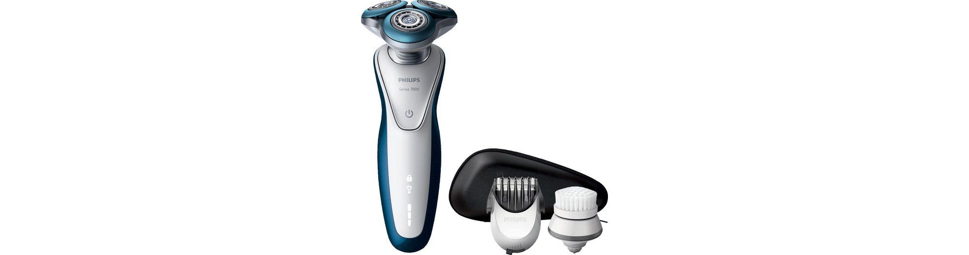 Philips Rasierer Series 7000 S7520/50, mit Reinigungsbürste und Bartstyler