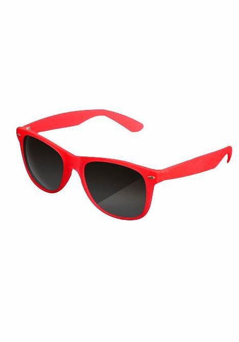 MasterDis Sonnenbrille mit verspiegelten Gläsern in rot