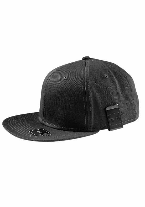 MasterDis Baseball Cap mit Geldscheinclip in schwarz