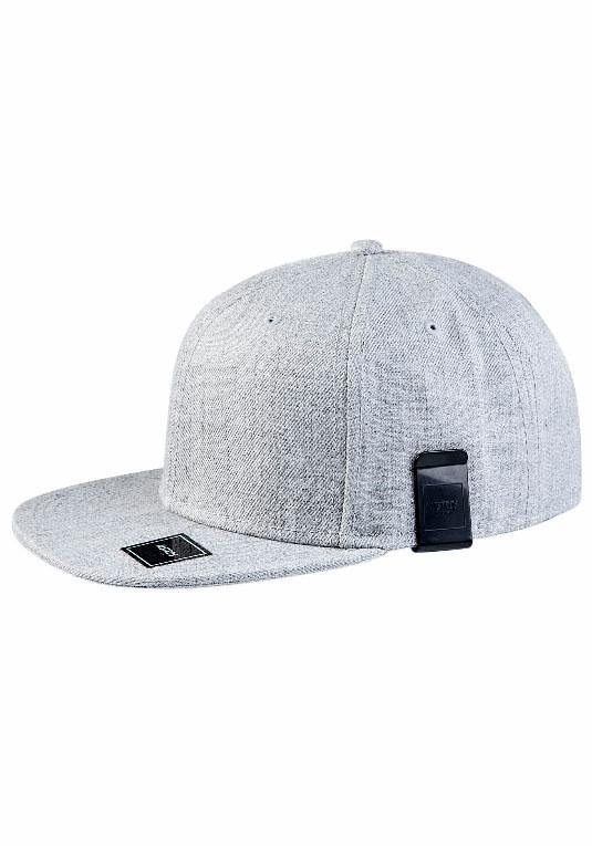 MasterDis Baseball Cap mit Geldscheinclip in hellgrau