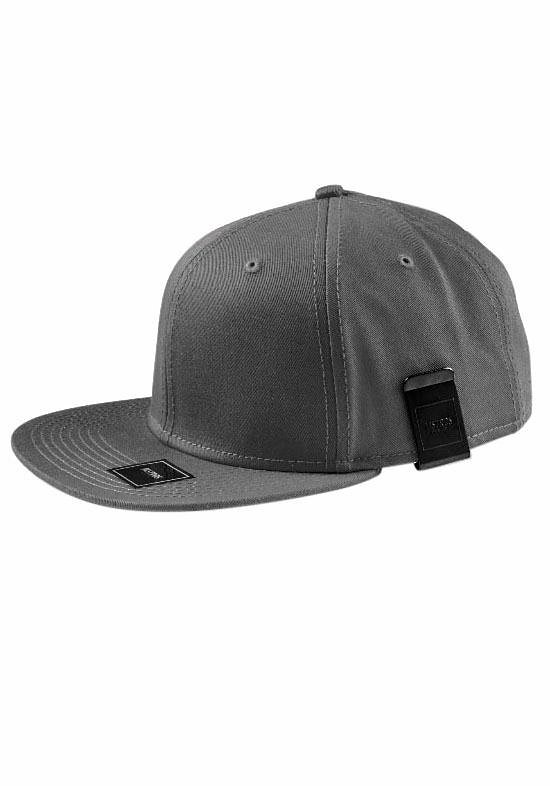 MasterDis Baseball Cap mit Geldscheinclip in dunkelgrau