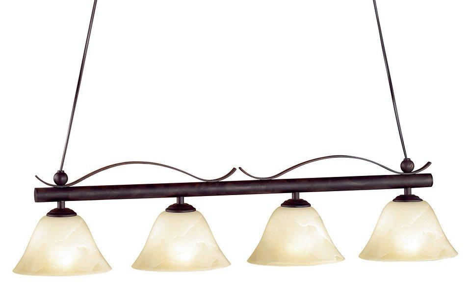 honsel leuchten pendelleuchte colonial 4 flammig online kaufen otto. Black Bedroom Furniture Sets. Home Design Ideas