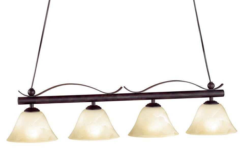Honsel Leuchten Pendelleuchte, 4flg., »Colonial«