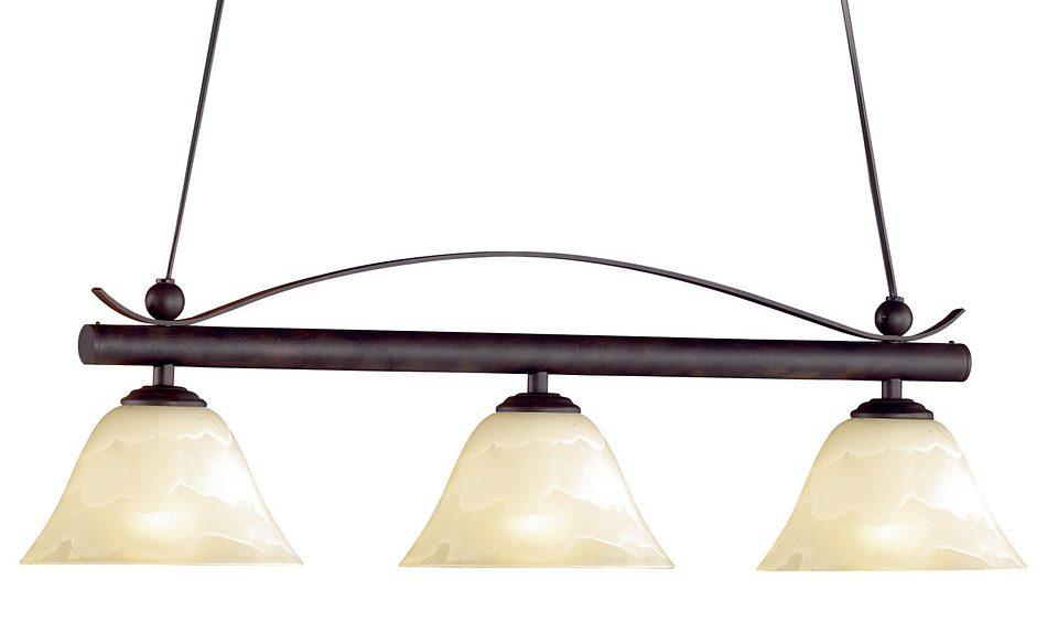 Honsel Leuchten Pendelleuchte, 3flg., »Colonial«