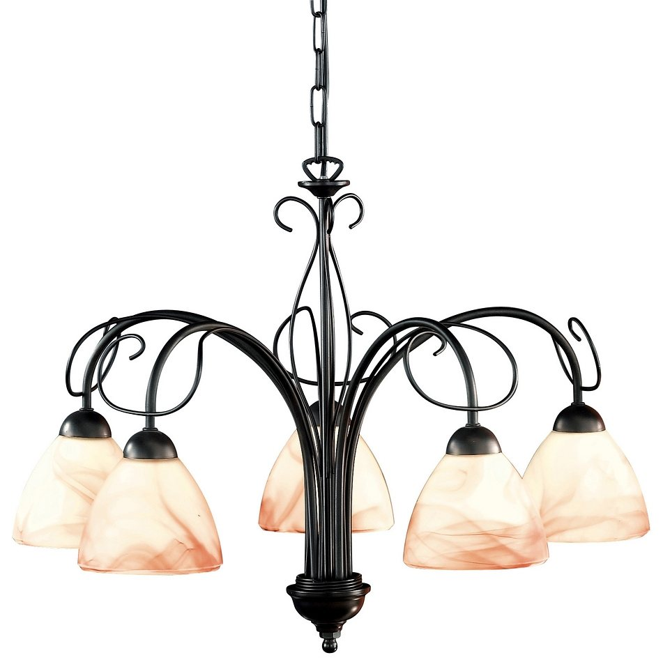 honsel leuchten pendelleuchte venezia 5 flammig otto. Black Bedroom Furniture Sets. Home Design Ideas