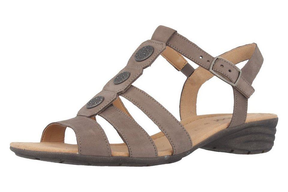 Gabor Sandaletten in Brown  Fumo Nubuck L