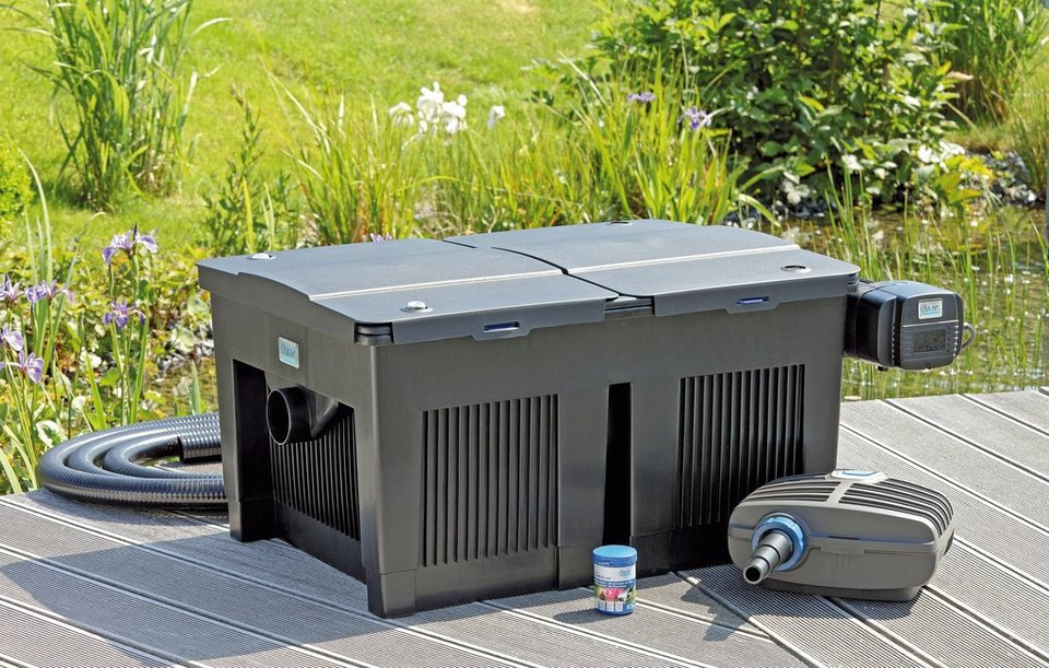 Teichfilter »BioTecScreenMatic Set 40000« in schwarz
