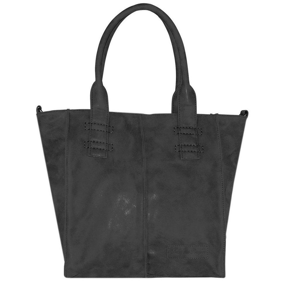 Fritzi aus Preußen Anne Vintage Shopper Tasche 34 cm in night