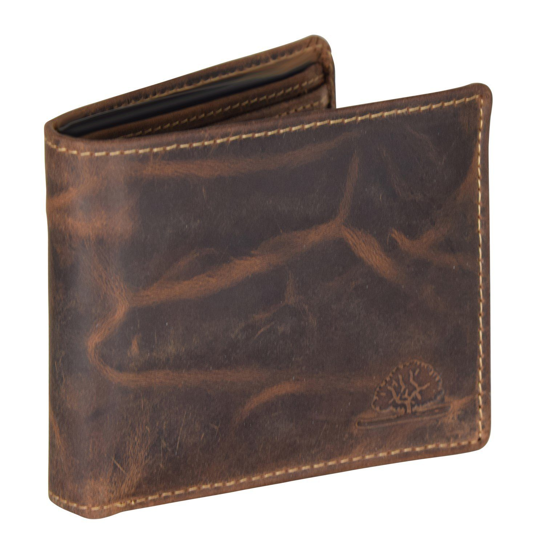 Greenburry Vintage Geldbörse Leder 11 cm